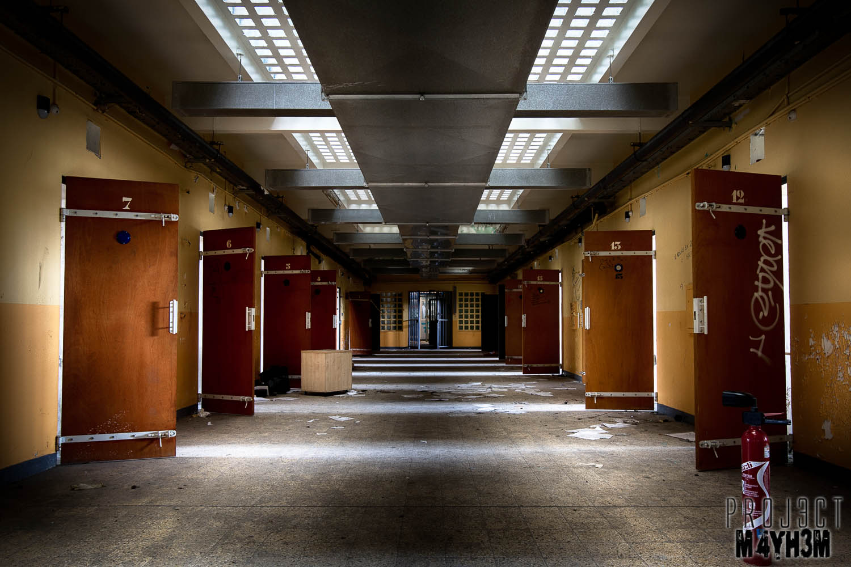 Proj3ctm4yh3m Urban Exploration Urbex Prison H15