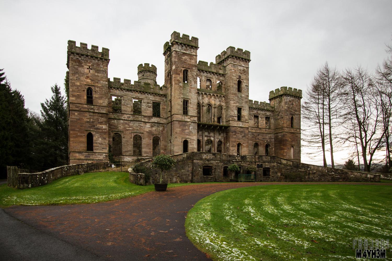 Proj3ctm4yh3m Urban Exploration Urbex Loudoun Castle Theme Park Ayrshire Scotland January 2014