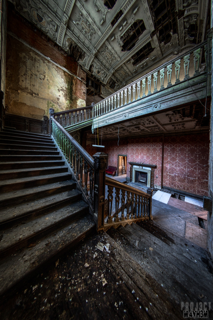 Peartree Manor Staircase