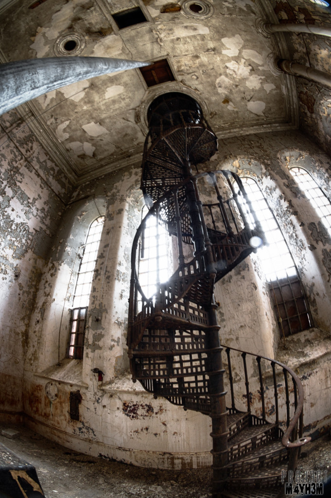 Sleaford Bass Maltings - The Spiral Staircase