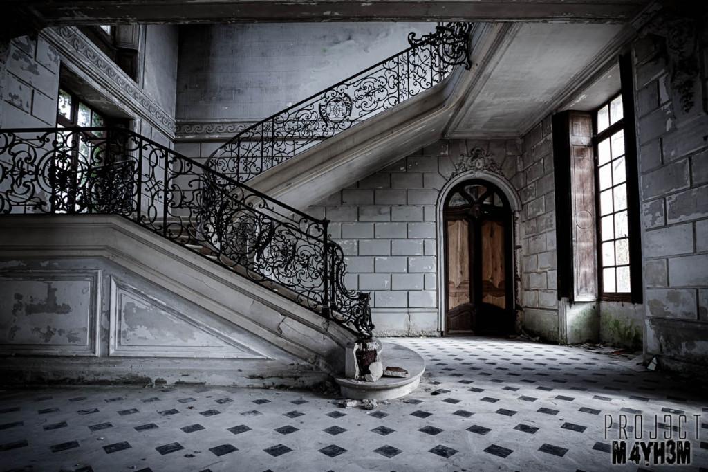 Château de Singes Staircase