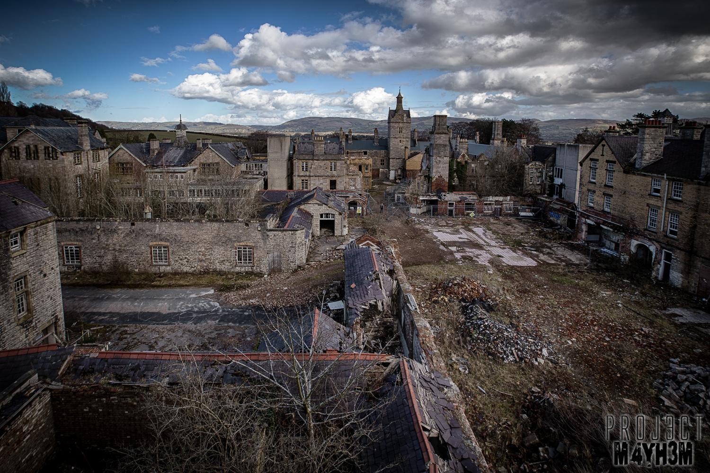 Proj3ctm4yh3m Urban Exploration Urbex Denbigh Lunatic Asylum Aka North Wales Hospital Denbighshire Wales March 2014 Revisit 3