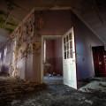 Severalls Asylum Colchester - Purple Corridor