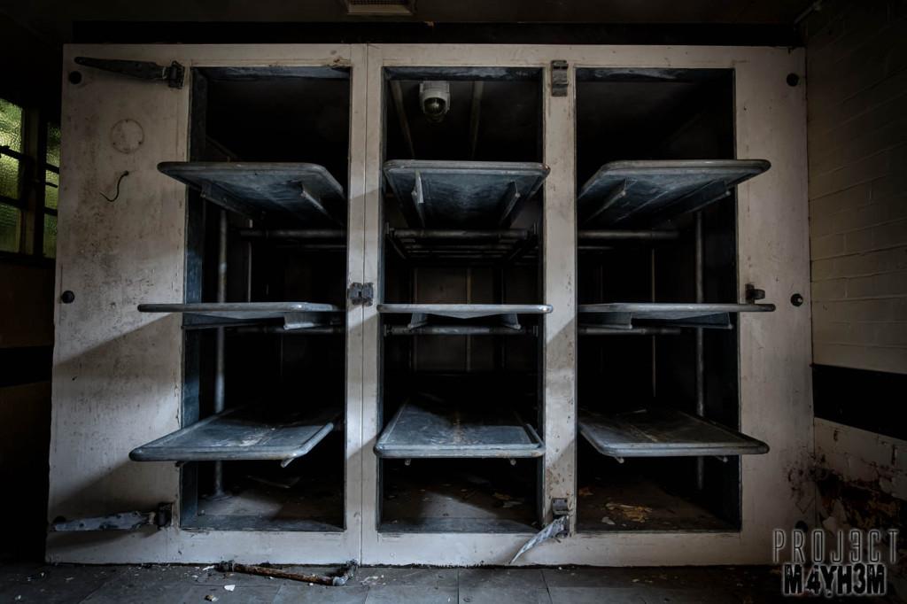 Severalls Asylum Colchester - Morgue