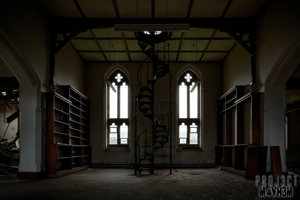St Josephs Seminary Upholland - Spiral Staircase
