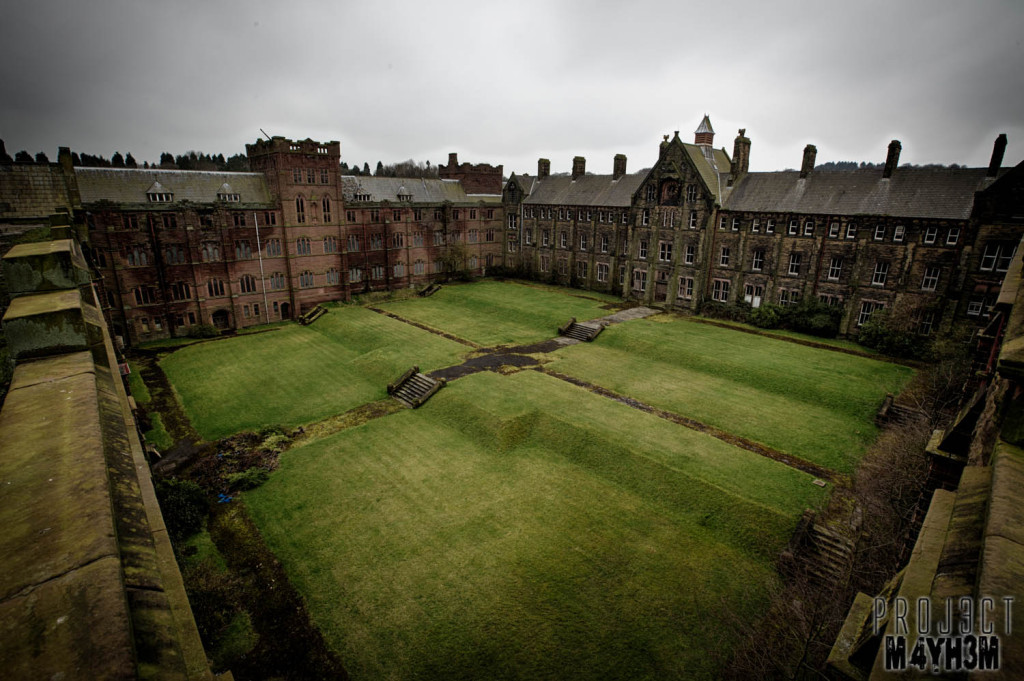 St Josephs Seminary Upholland - Courtyard