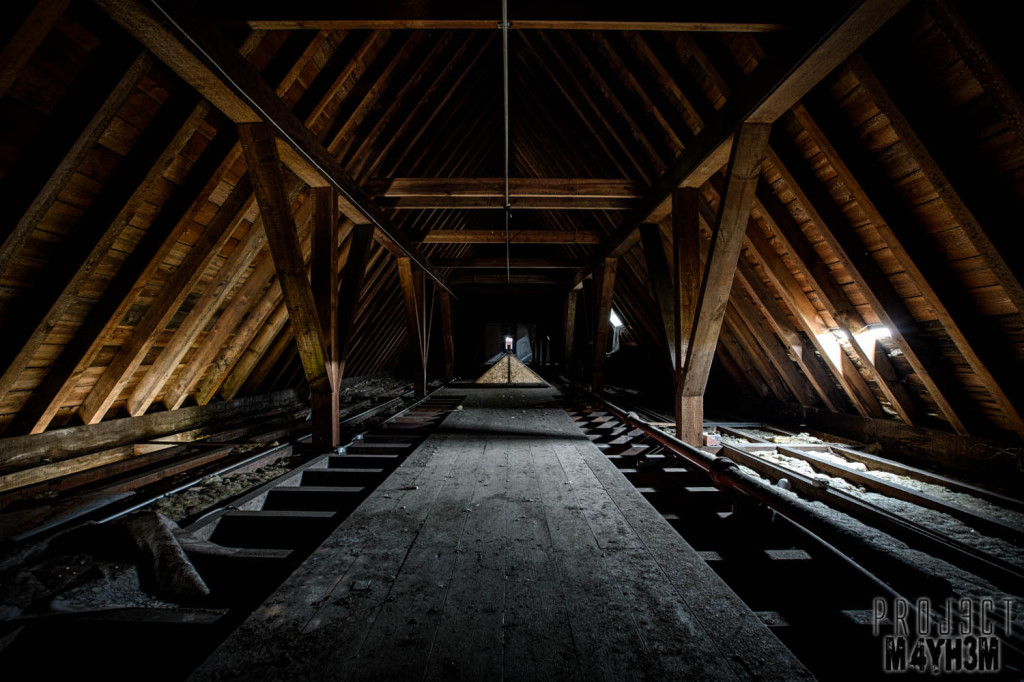 St Josephs Seminary Upholland - Attic