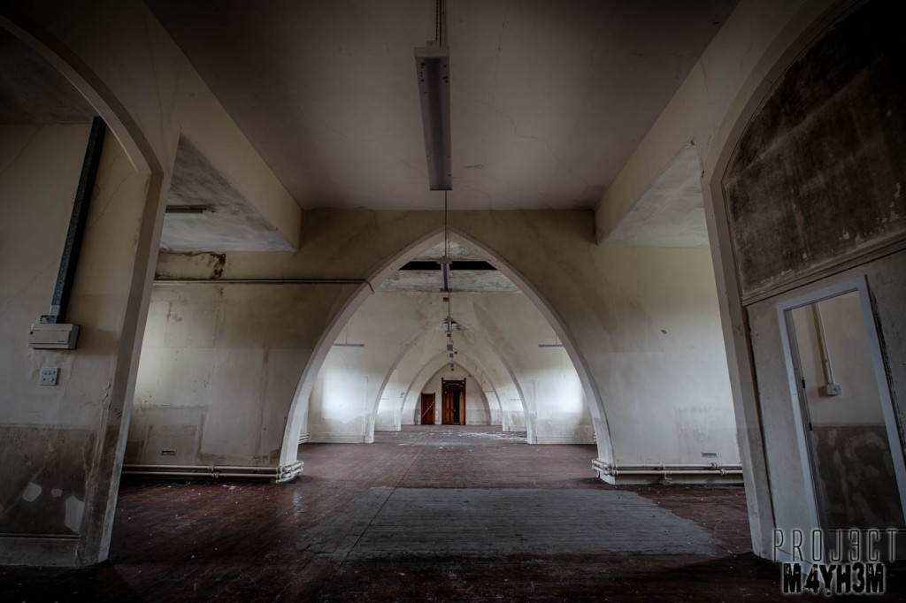 St Josephs Seminary Upholland - The White Hall