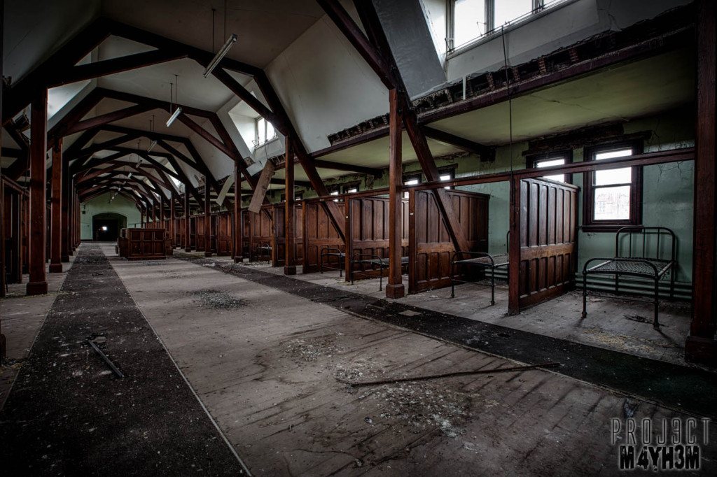 St Josephs Seminary Upholland - Dormatories