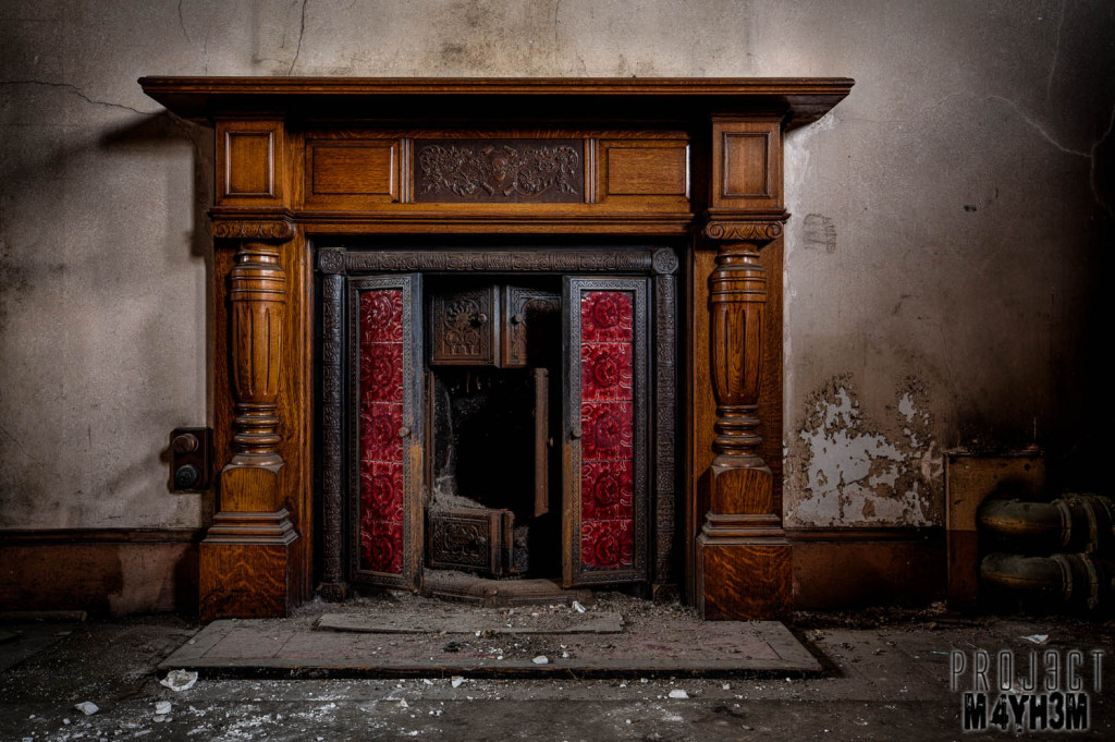 St Josephs Seminary Upholland - Fire Place