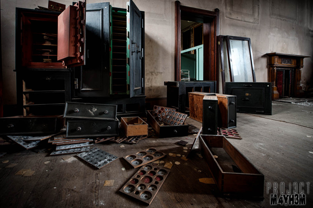St Josephs Seminary Upholland - Safe Room