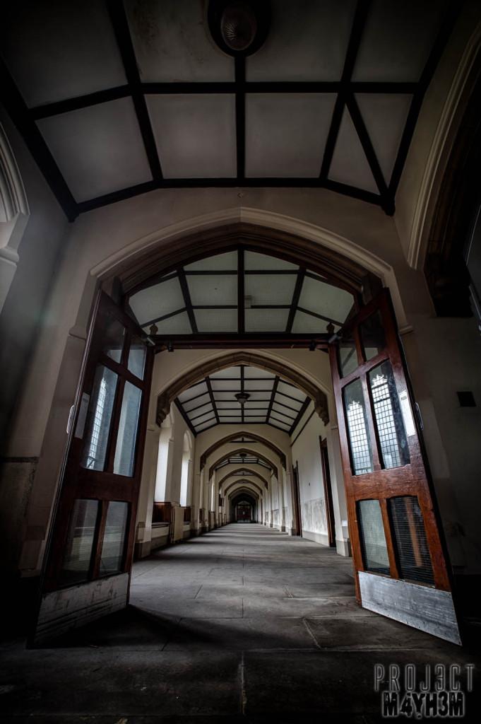 St Josephs Seminary Upholland - Corridors