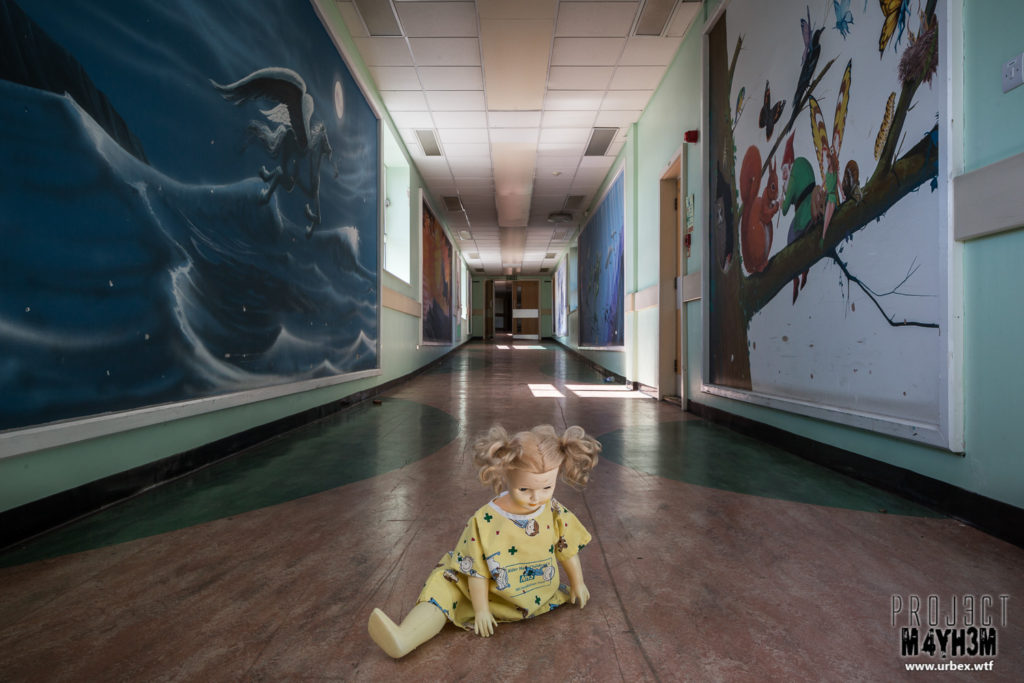 More from an empty Children's Hospital