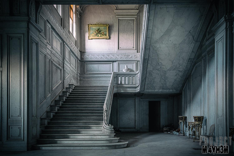 Château de la Forêt - Main Staircase