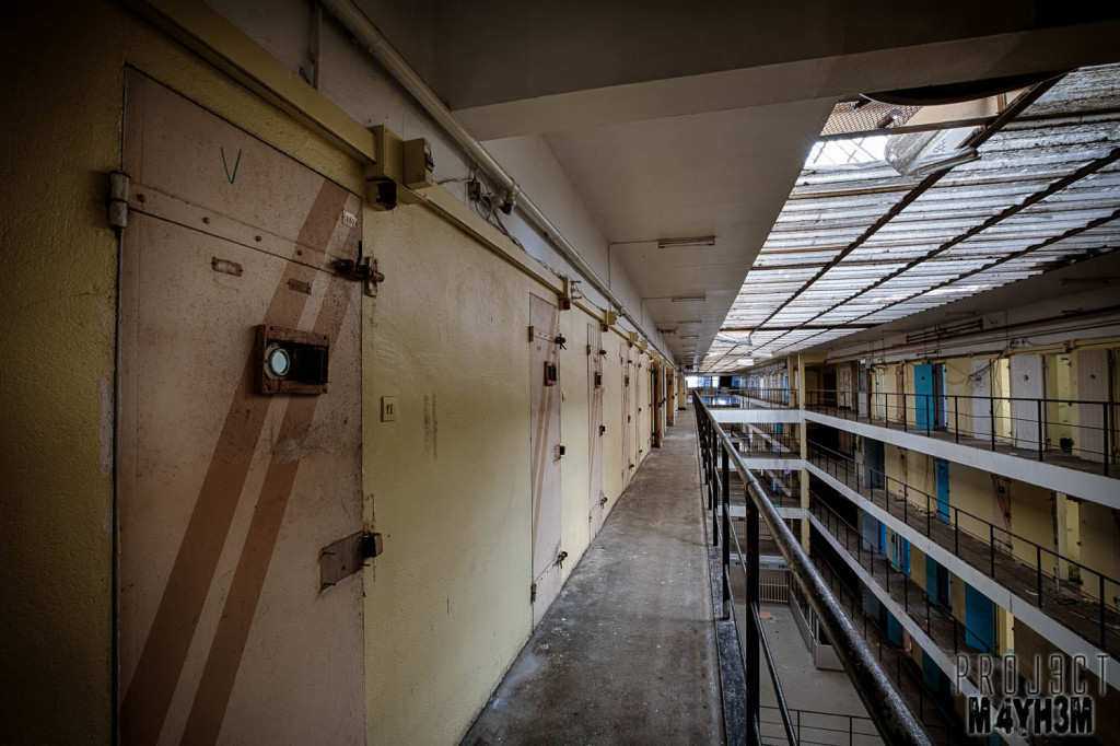 Prison H15 Main Cell Block Womend Wing
