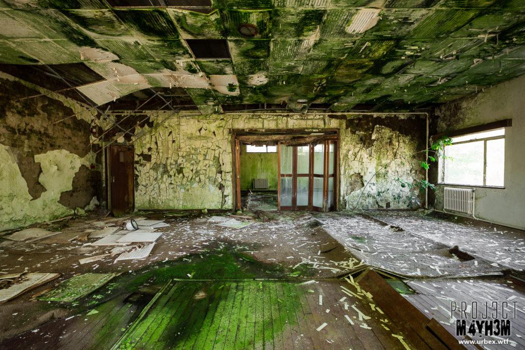 A rotting RAF Airbase
