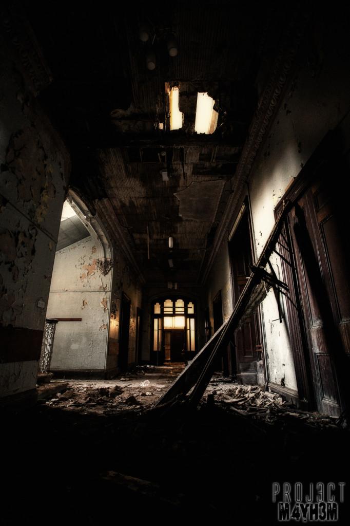 Birkwood Asylum Corridor