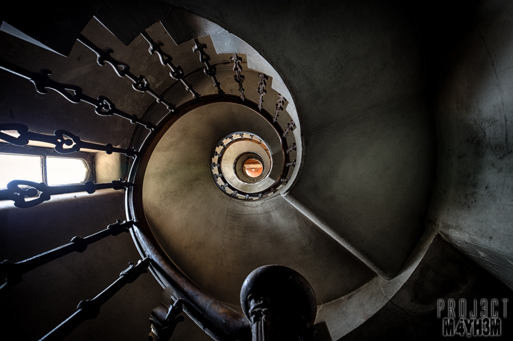 Birkwood Asylum Spiral Staircase