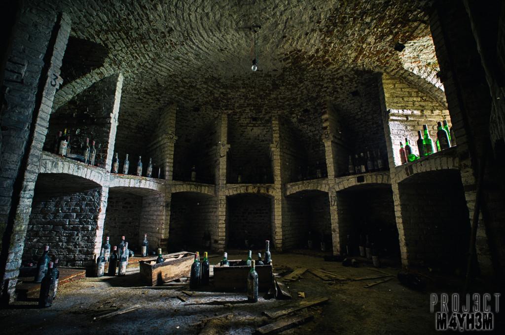 Château de la Forêt - Wine Cellar