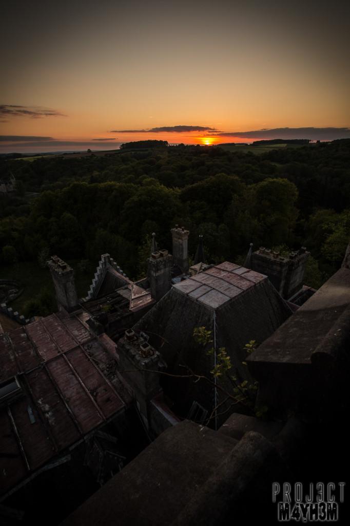 Castle Miranda aka Château Noisy - Sunset