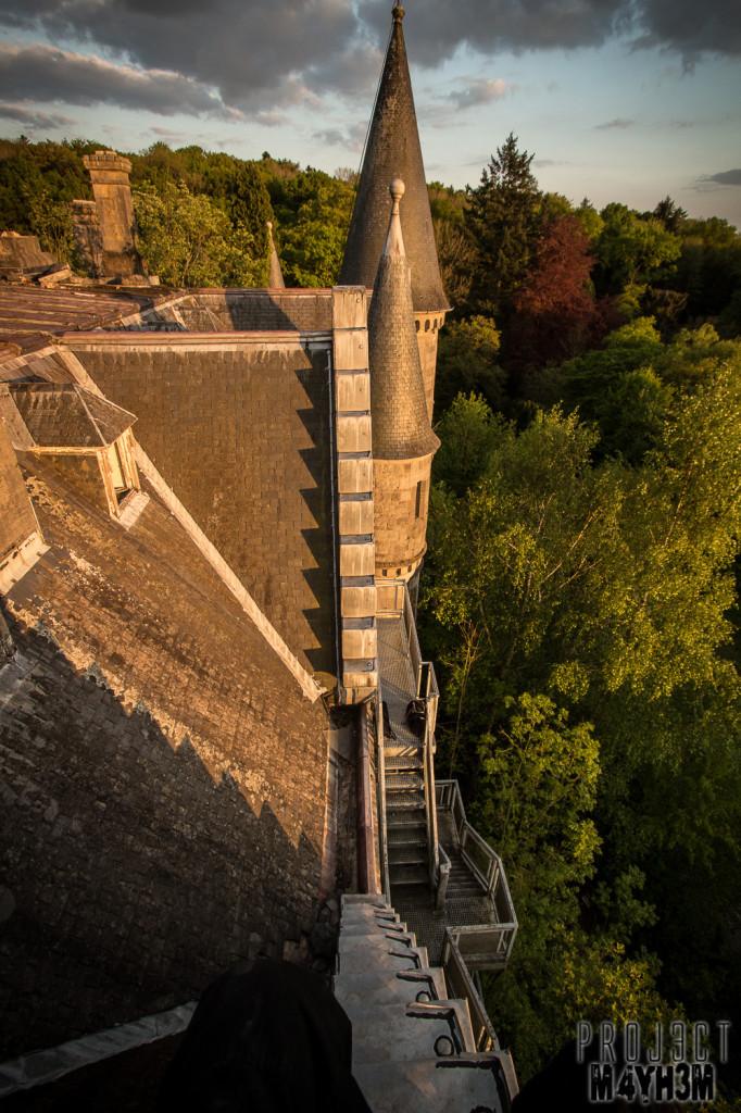 Castle Miranda aka Château Noisy - Rooftops