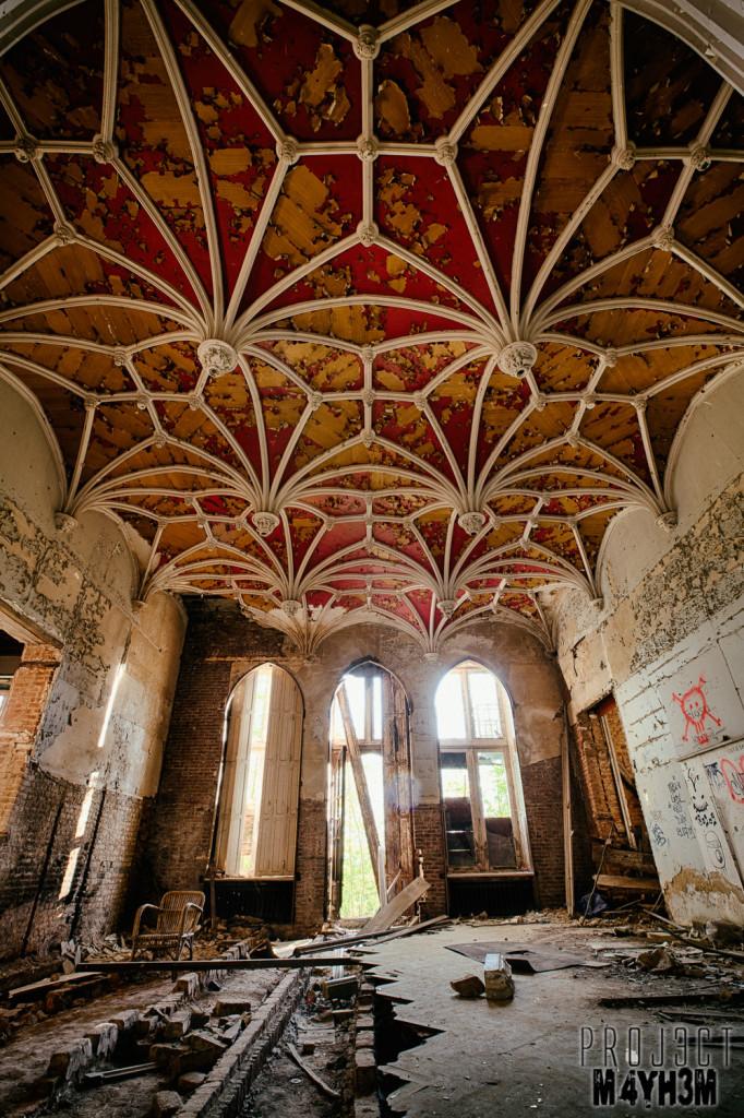 Castle Miranda aka Château Noisy - Decorative Ceiling