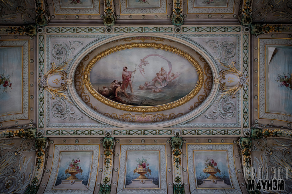 Alla Italia Entrance Hall Ceiling