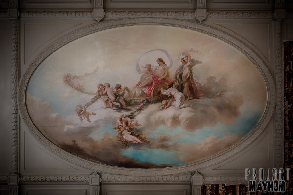 Alla Italia - Painted Ceiling