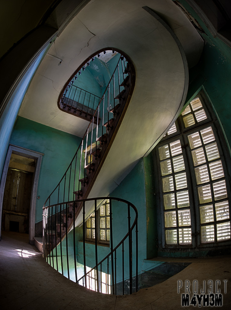 Château du Cavalier - Spiral Staircase