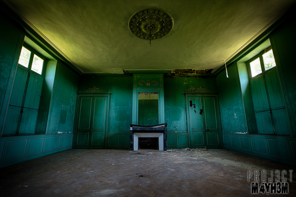 Château du Cavalier - The Green Room
