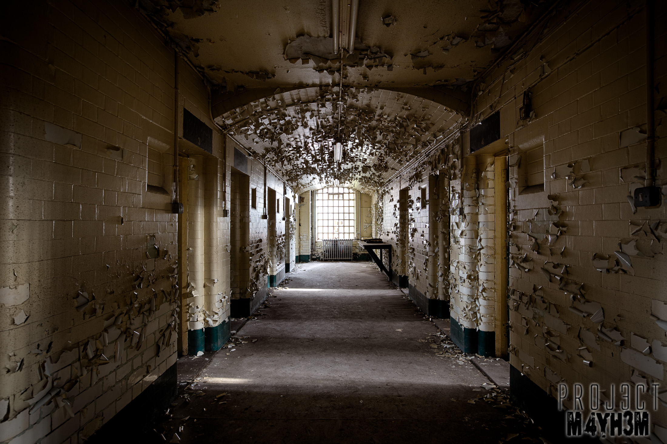 Sheffield Crown Court - The Prison Cells