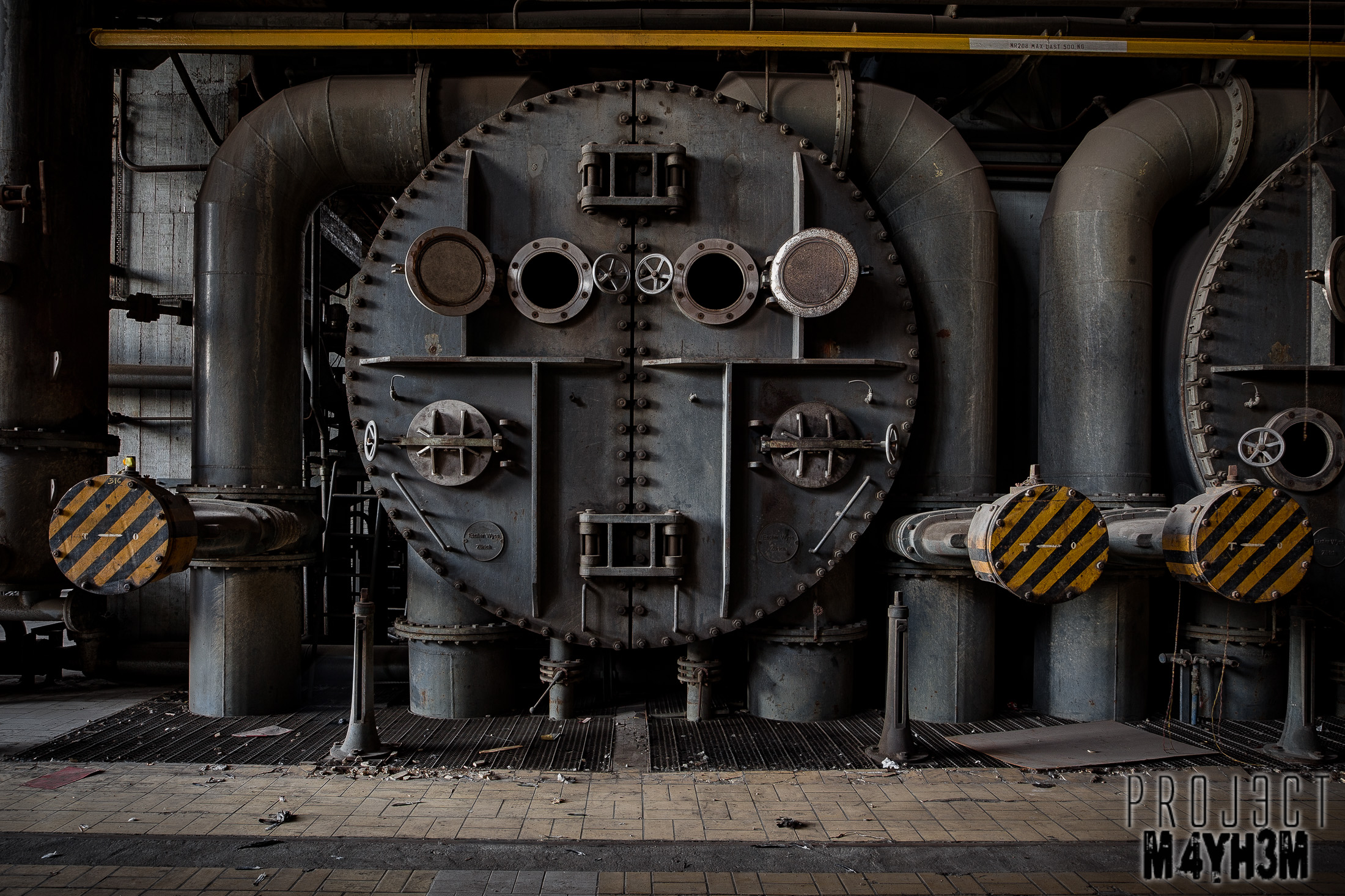Gigawatt Power Station - Boiler Face