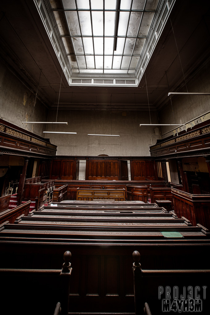 Sheffield Crown Court - Courtroom #2
