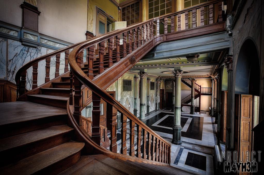 Château JM Main Staircase
