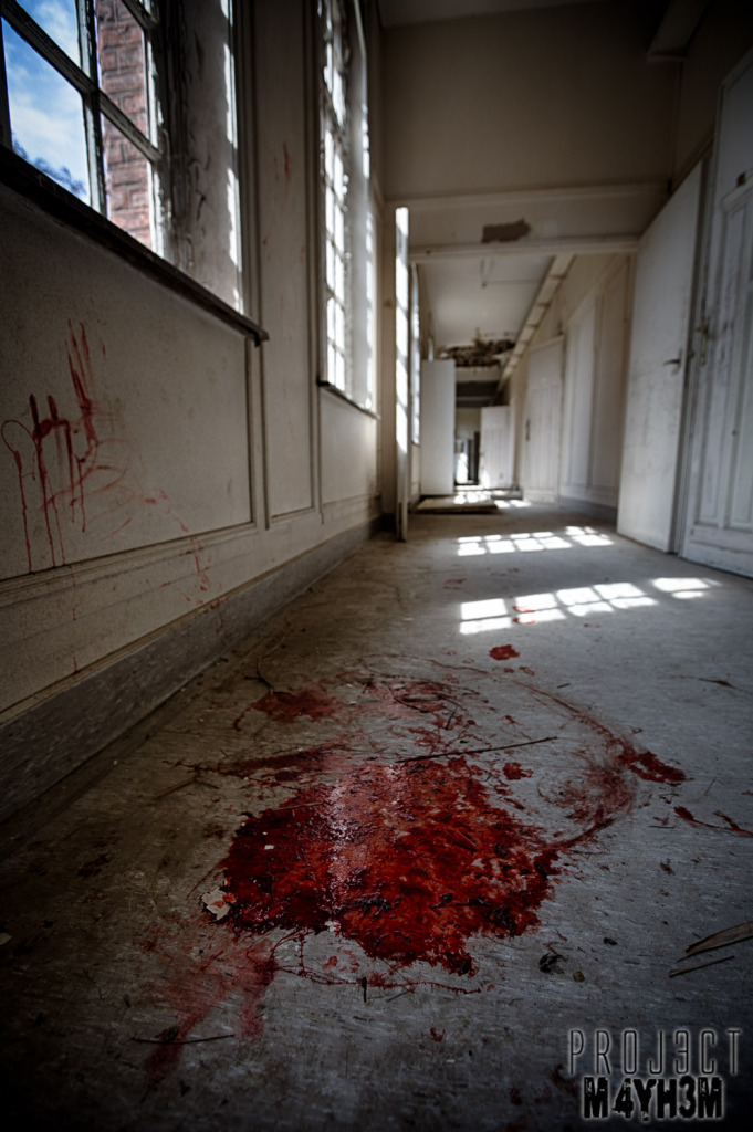Salve Mater Psychiatric Hospital - Blood in the halls, blood on the walls...