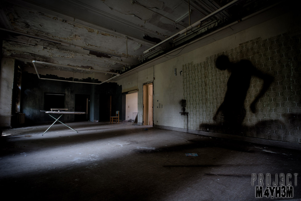 Salve Mater Psychiatric Hospital - Shadow Monster