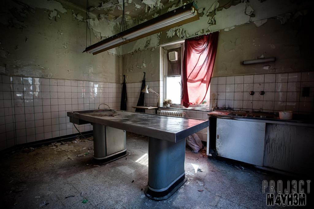 Salve Mater Psychiatric Hospital - Morgue