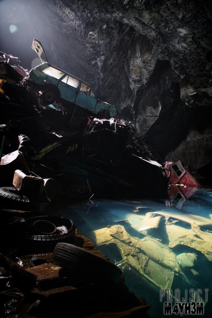 The Cavern of the Lost Souls aka Car Graveyard Mine