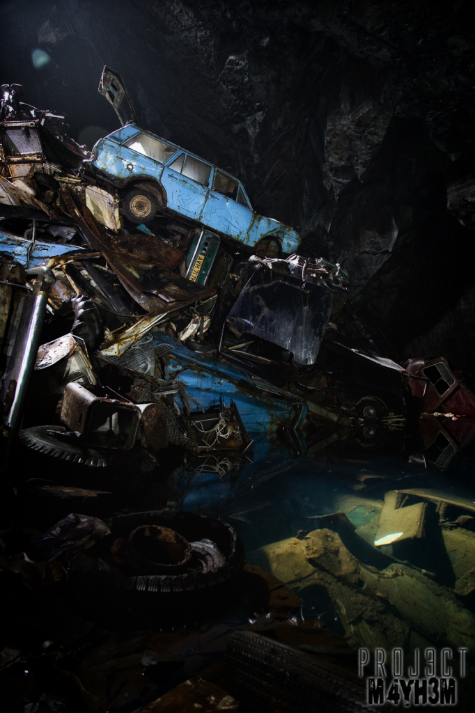The Cavern of the Lost Souls aka Car Graveyard Mine