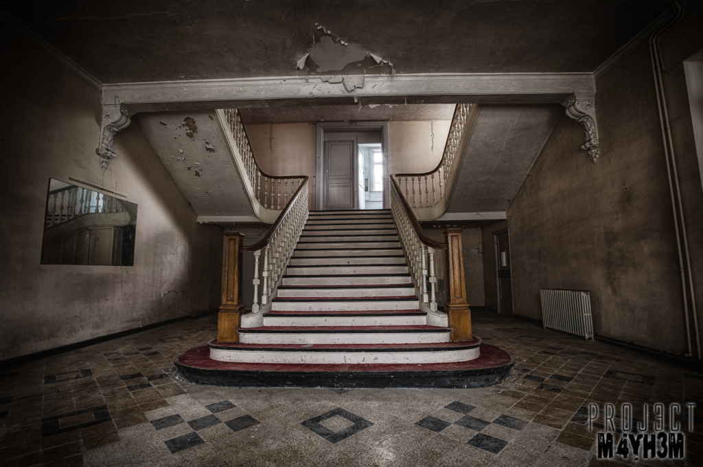 Hotel Thermale - The Main Staircase