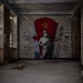 CCCP Pilot School - Soviet Mural