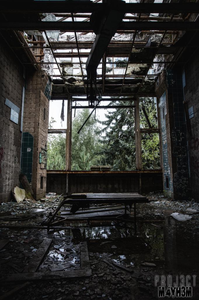 Beelitz-Heilstätten aka Beelitz Hospital - Blue Theatre Room