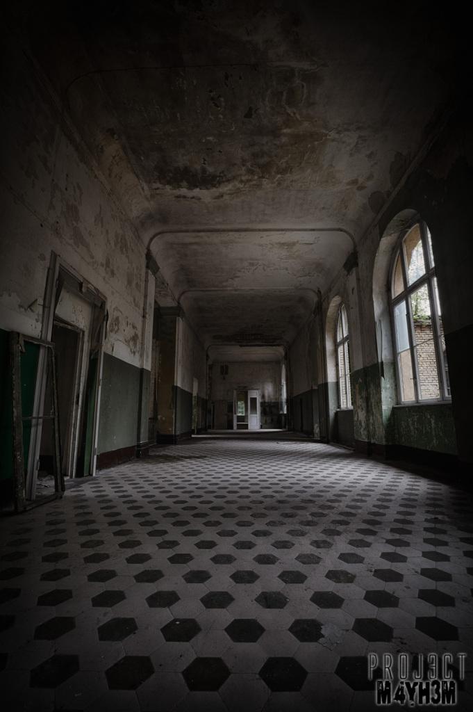 Beelitz-Heilstätten aka Beelitz Hospital Bath House - Corridor
