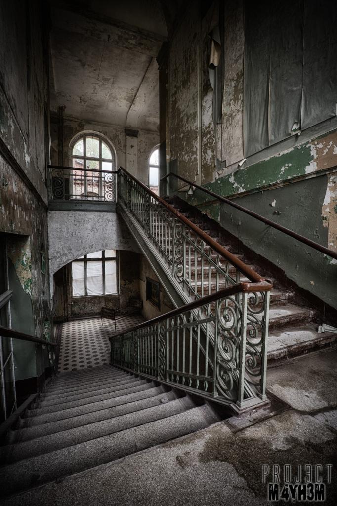 Beelitz-Heilstätten aka Beelitz Hospital Bath House - Staircase