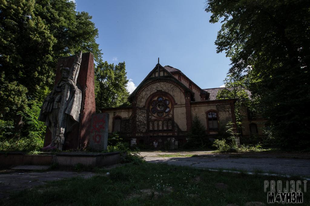 Beelitz-Heilstätten aka Beelitz Hospital Mens Pavilion