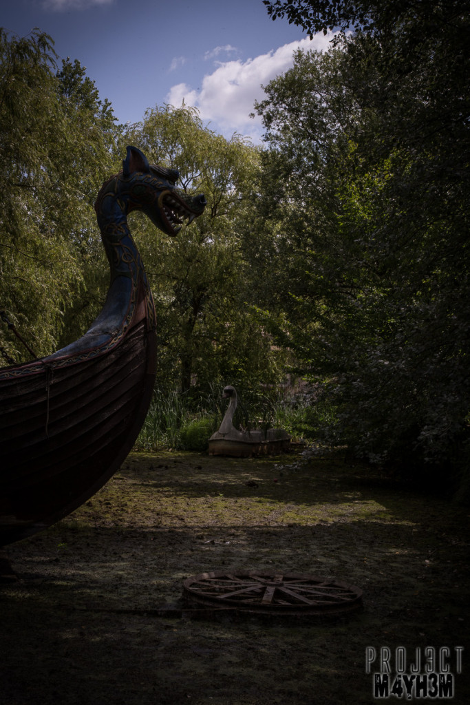 Spreepark Berlin aka Kulturpark Plänterwald - Pirate Ship
