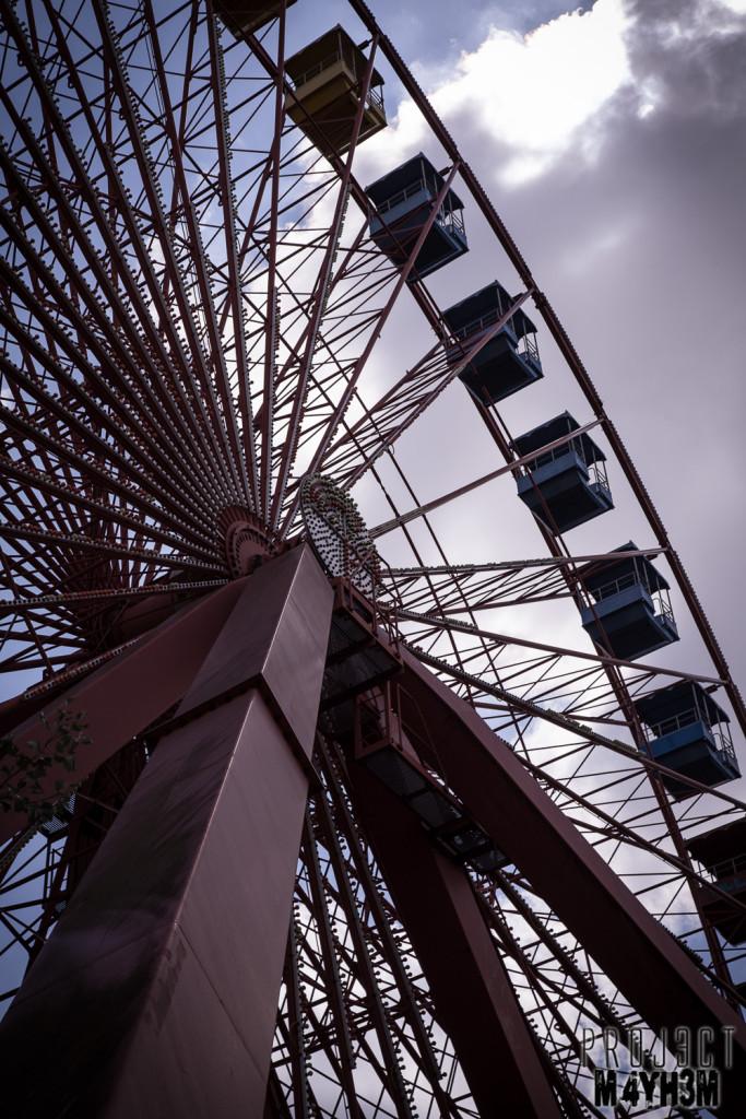 Spreepark Berlin aka Kulturpark Plänterwald - Ferris Wheel