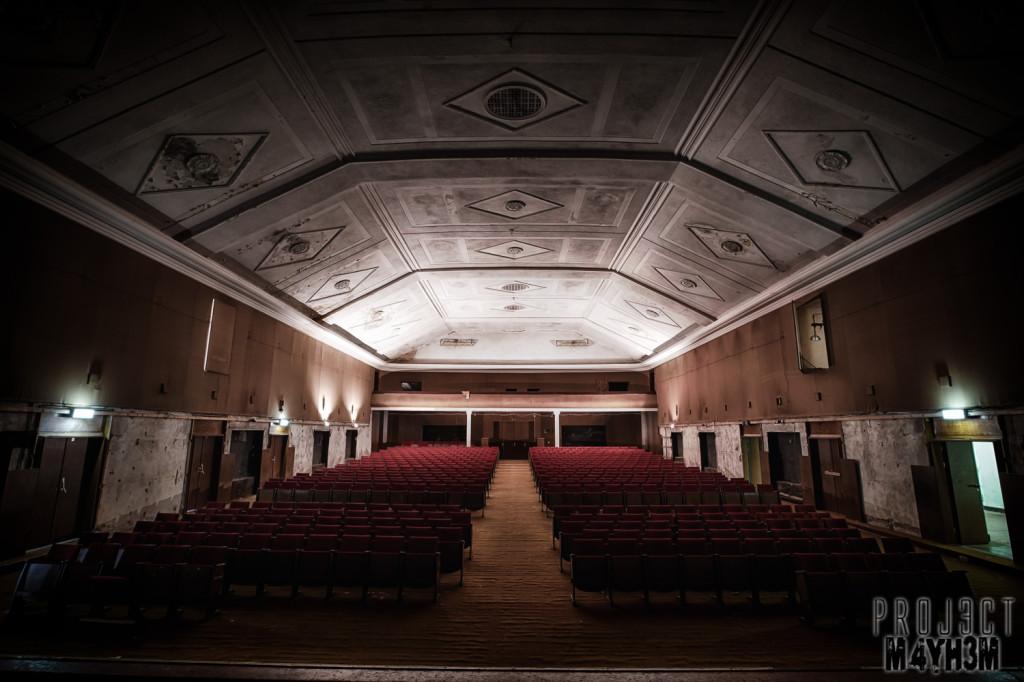 Haus der Offiziere - Wünsdorf - The Theatre