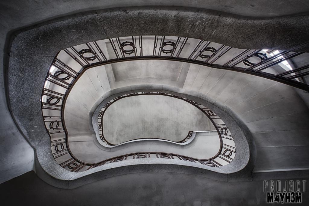 Haus der Offiziere - Wünsdorf - Spiral Staircase