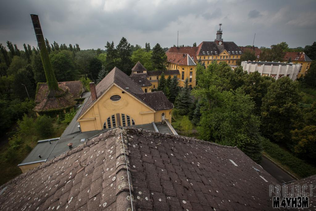 Haus der Offiziere - Wünsdorf - Rooftop